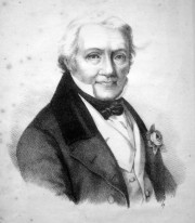 Salomon Heine (aus:Joseph Mendelssohn, Salomon Heine: Blätter der Würdigung und Erinnerung für seine Freunde und Verehrer, 3. Aufl., Hamburg 1845, Frontispiz)