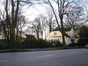 Ehemaliges Gärtnerhaus an der Elbchaussee (Foto: Schnitter, 2009)