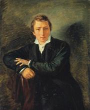 Heinrich Heine nach einem Gemälde von Moritz Daniel Oppenheim (http://upload.wikimedia.org/wikipedia/commons/5/5e/Heinrich_Heine-Oppenheim.jpg)